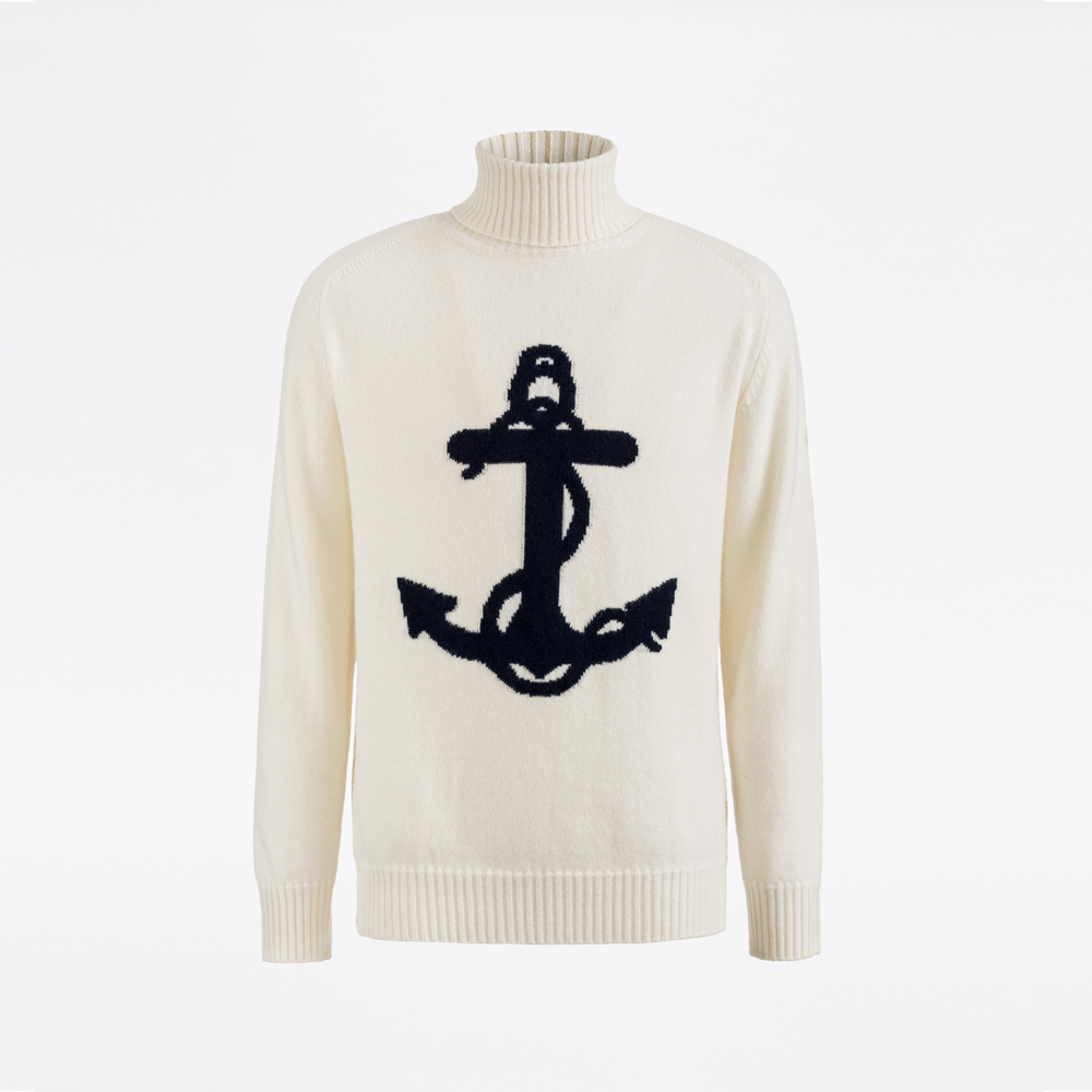Sealup-UNISEX TURTLENECK WITH ANCHOR