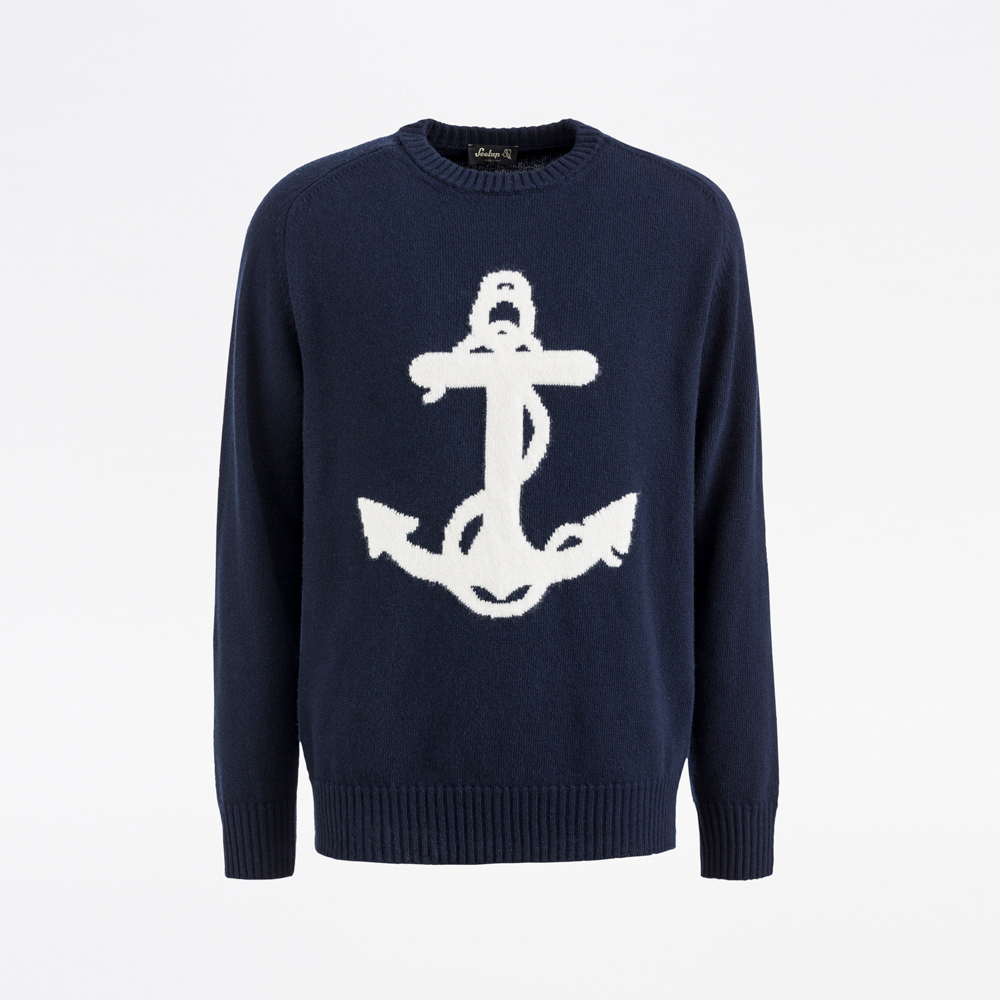 Sealup-UNISEX CREW NECK WITH ANCHOR